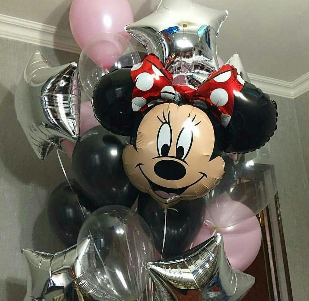 Композиция из воздушных шаров МИННИ