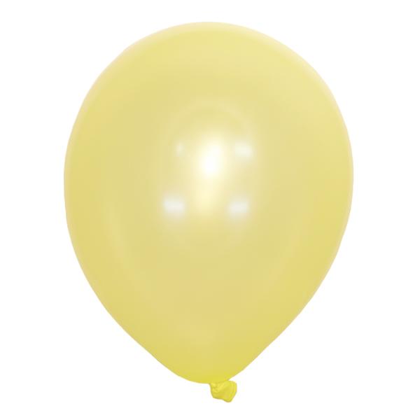 Воздушный шар Металлик LEMON YELLOW