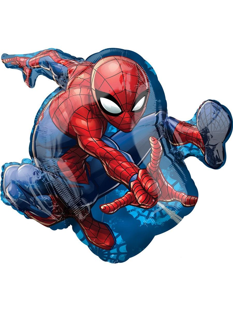 Человек паук в прыжке