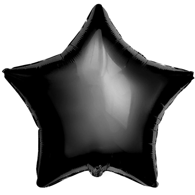 Звезда пастель черный