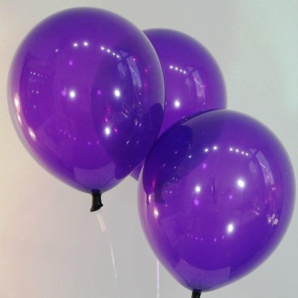 Шары латексные декоратор фиолетовый