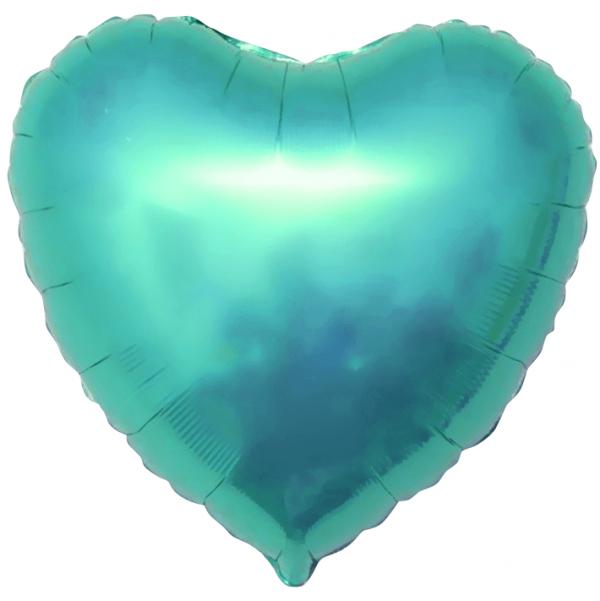 Фольгированный шар Сердце тиффани большое