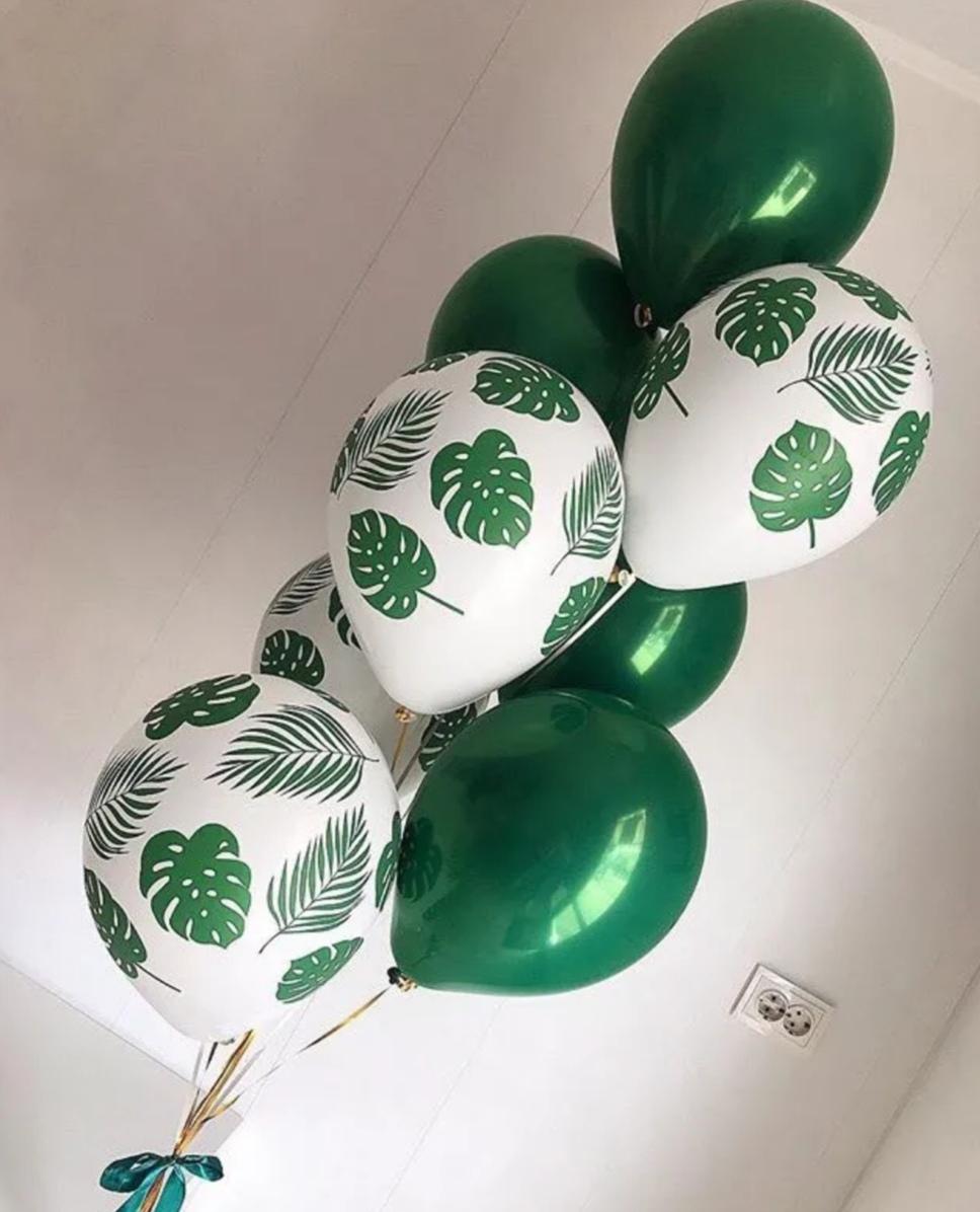 Фонтан шаров Зеленая Листва