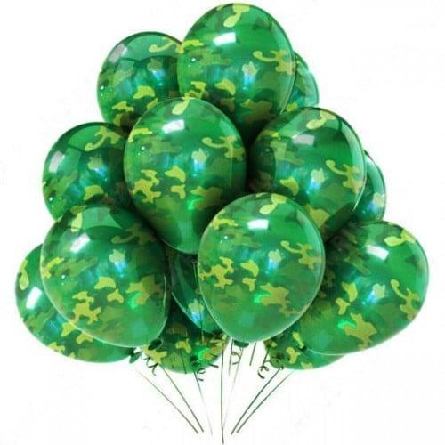 Воздушные шары с гелием КАМУФЛИРОВАННЫЕ