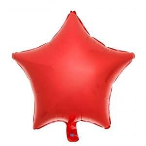 Звезда металлик красный