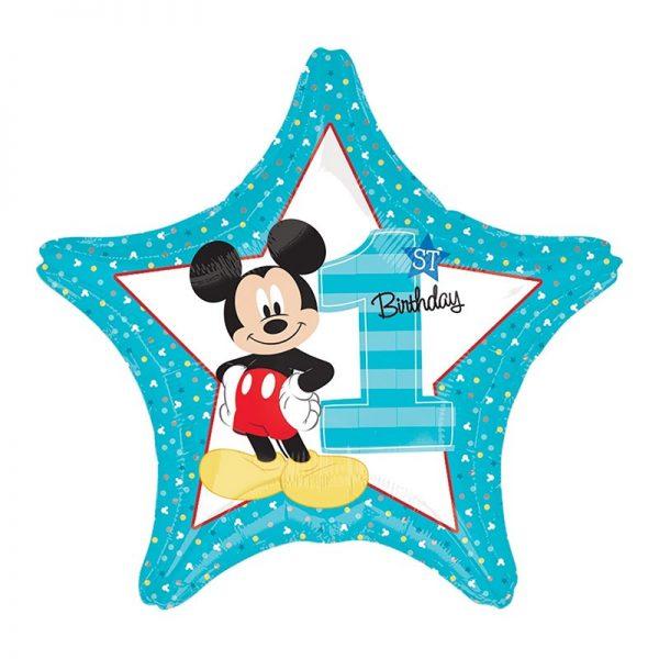 Микки Маус 1-ый день рождения