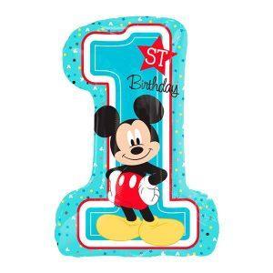 Микки Маус первый день рождения