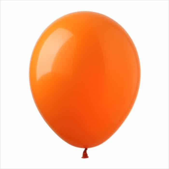 Шары латексные оранжевый