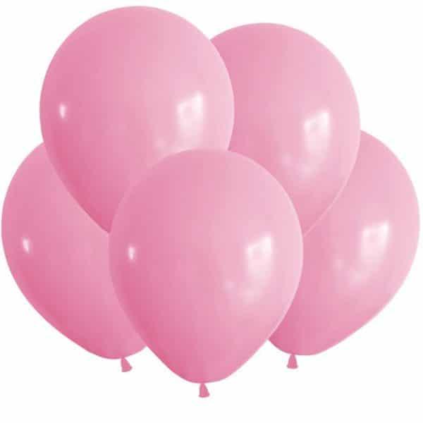 Шары латексные розовый