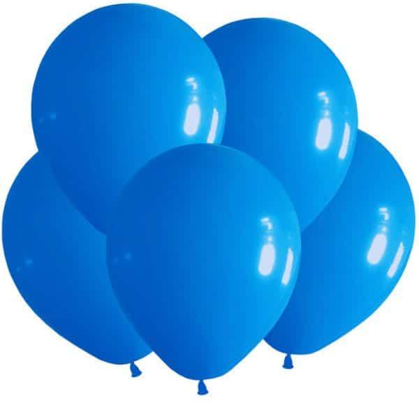 Шары латексные синий