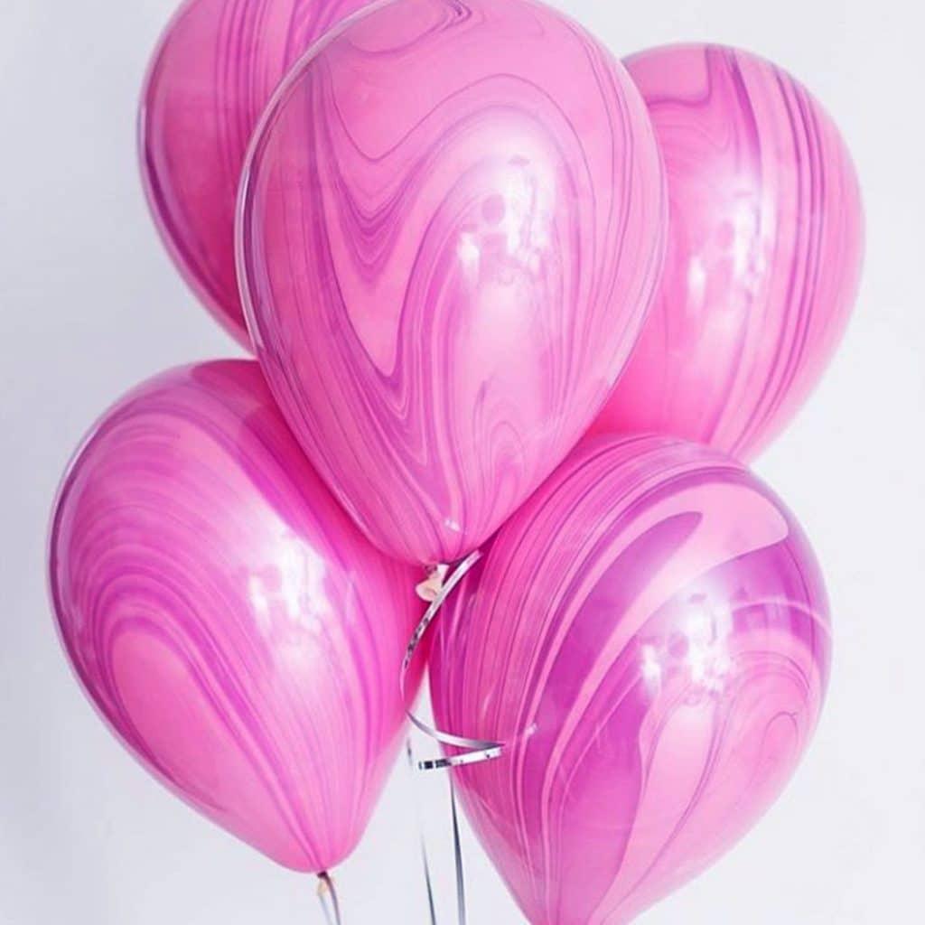 Супер АГАТ розовый-сиреневый