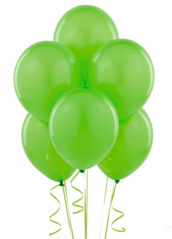 Шары латексные светло-зеленый