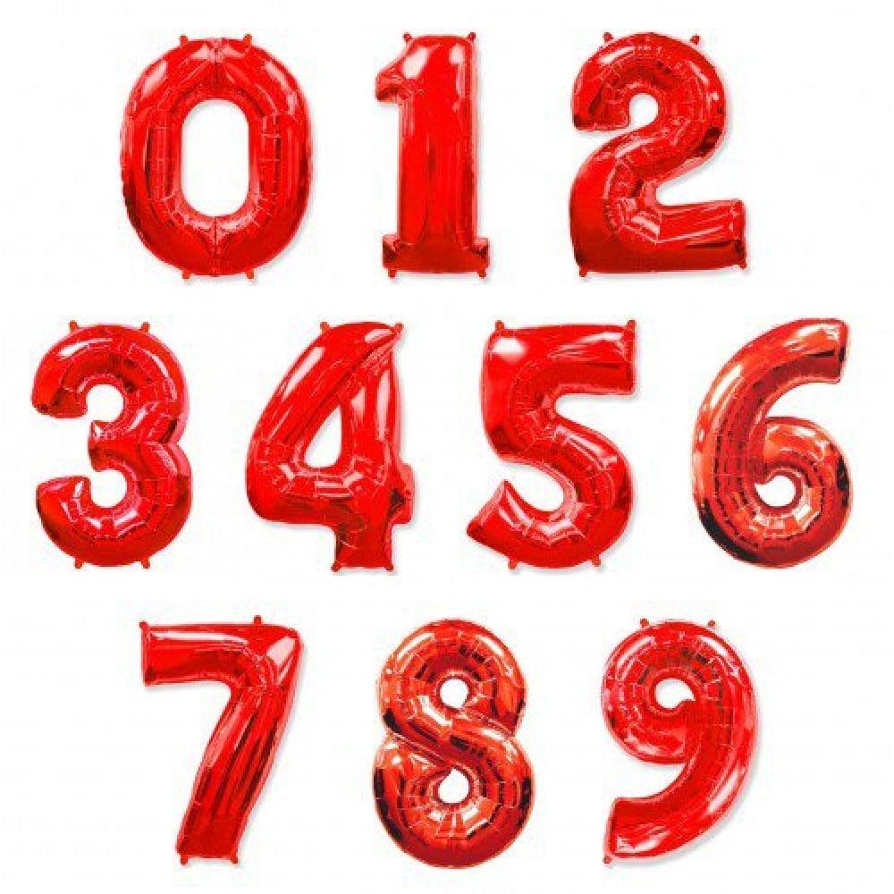 Цифра Красный