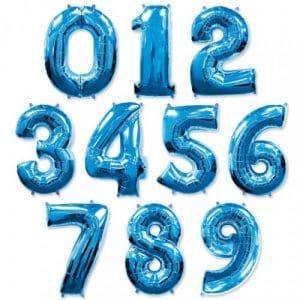 Цифра  Синий