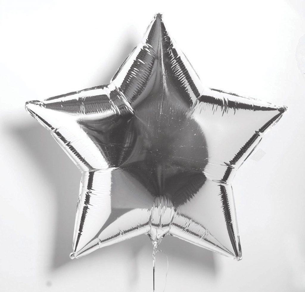 Звезда 32″ Металлик Silver (серебро)