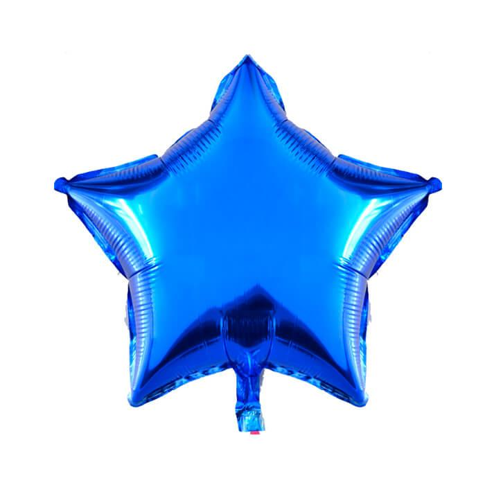 Звезда металлик синий