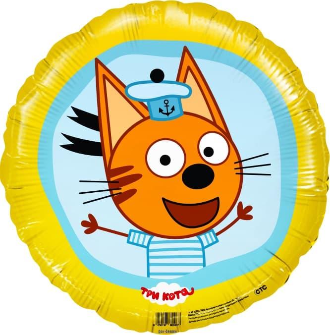 Фольгированный шар Три Кота Коржик