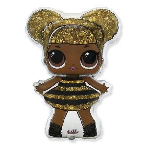 Фольгированный шар Кукла Лол Королева